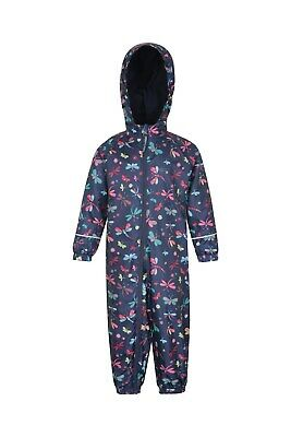 Mountain Warehouse Boys Waterproof Rain Suit 100% Polyster with Taped Seams