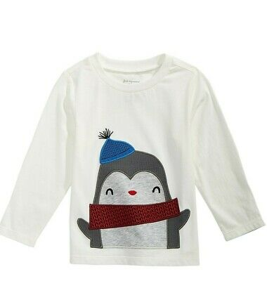 FIRST IMPRESSIONS BABY BOYS COTTON PENGUIN T-SHIRT - 12 Months  NEW!