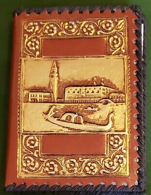 """Unique 7"""" Leather Address and Note Book"""
