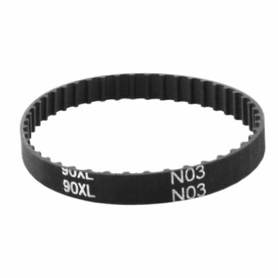 "H● XL-90 45 Teeth 7.9mm Width Black Rubber Cogged Industrial Timing Belt 9""."