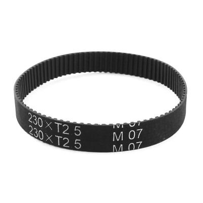 H● T2.5x230 Width Groove Timing Belt for Stepper Motor 92-Tooth 2.5mm Pitch10mm