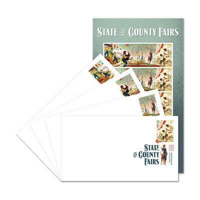 USPS New State and County Fairs Keepsake (Set of 4)