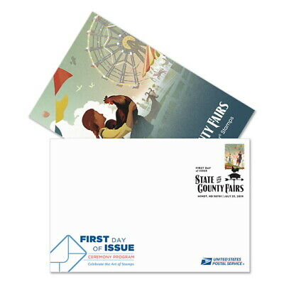 USPS New State and County Fairs Ceremony Program