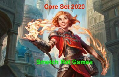 Core Set 2020 Complete Playset of Commons x4 Mtg M20 Magic The Gathering