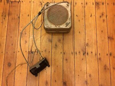 Vintage Astor Valve Car Radio