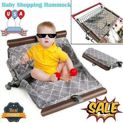 Portable Baby Cart Shopping Hammock For 3-10 months Newborn Toddler Infant Seat