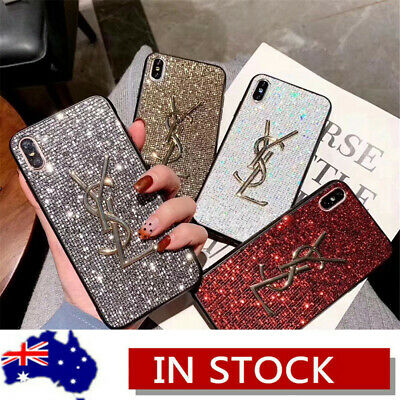Bling Glitter Luxury Shockproof Case Cover For iPhone XS Max XR X 8 7 6s Plus