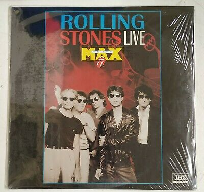 The Rolling Stones Live At The Max Laserdisc  USA 1994 NTSC