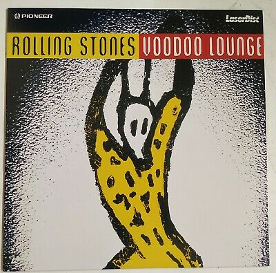The Rolling Stones Voodoo Lounge Laserdisc Europa 1996 PAL