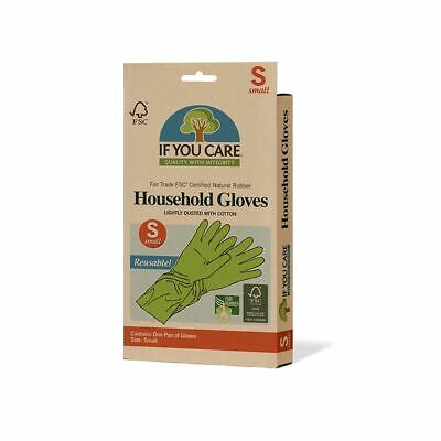 If You Care Small, rubber, latex household gloves