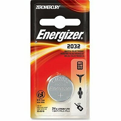 Energizer ECR2032BP Watch & Electronic Battery Lithium - NEW