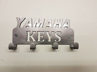 Yamaha Key / Coat Holder Key Rack 3mm steel 4 hooks house keys Organiser