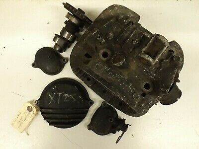 Yamaha XT250 early 1980's cylinder head and covers