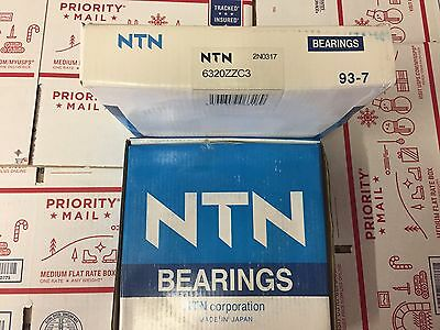 NTN BEARING 63306 ZZ or W6306 ZZ C3 Name brand quality 30X72X30.2mm 3-8-3