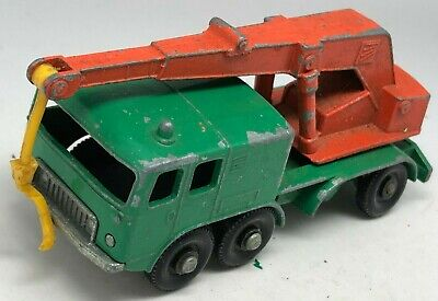 Matchbox Lesney No 30 FAUN 8 Wheel Crane Truck