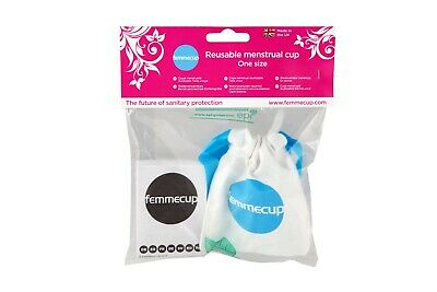 Femmecup Menstrual Cup UK One Size NEW