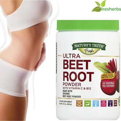 BEET ROOT POWDER VITAMIN C B12 DIGESTIVE Super WEIGHT LOSS SUPPLEMENT 9.5 OZ