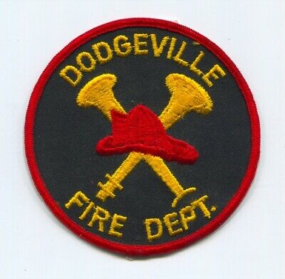 Dodgeville Fire Department Patch Wisconsin WI v2