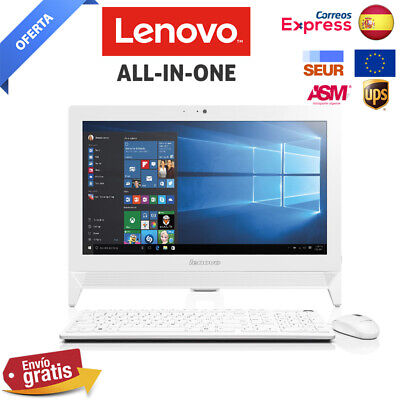 "Ordenador All-in-One Lenovo C20-00 19,5"" blanco RAM 4 GB - HDD 500 GB FULLHD .--"