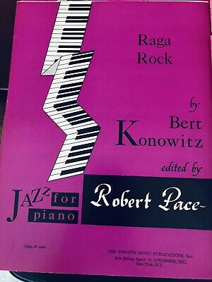 28 Vintage 1960's & 1970's Robert Pace Jazz For Piano Piano Sheets