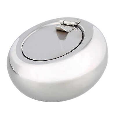 7Penn | Metal Ashtray with Lid Closed Ashtray Cigarette Ash Tray Outdoors Medium