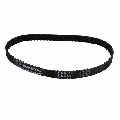H● 166XL Timing Belt Black for Stepper Motor 83 Teeth 10mm Width 5.08mm Pitch.