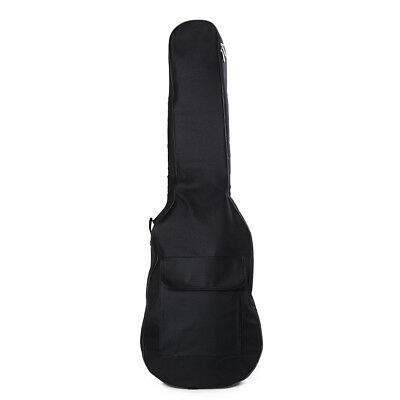 1x Padded Electric Guitar Bag Soft Case Double Straps Backpack Carrying Ba ZT TS