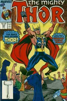 Thor (1966 series) #384 in Near Mint minus condition. Marvel comics [*2p]