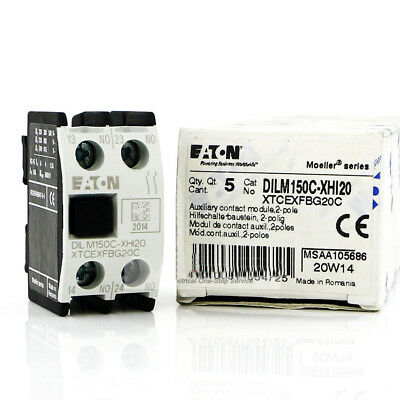 H● Eaton,Moeller DILM150C-XHI20 Auxiliary Contact.