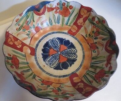 Anique Imari Bowl Made In Mid 19Th Century In China For Export To Japan