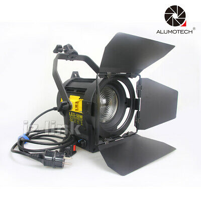 5500K 50W LED Dimming Fresnel Spot Continuous Light For Video Studio Photography