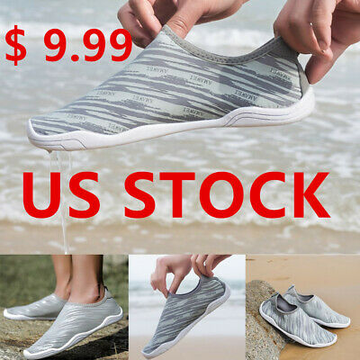 US7-13 Mens Beach Water Shoes Aqua Quick Drying Aqua Athletic Sport Swim Shoes