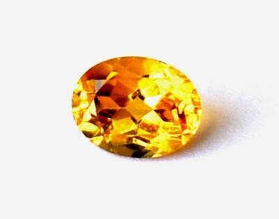 Perfect Oval Cut Stone Natural Flawless Citrine 7X9 Mm Loose Gemstone #469-A