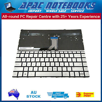 keyboard backlit silvery for HP Spectre x360 13-ae010tu 2VQ39PA