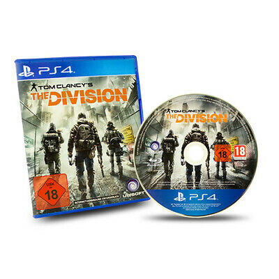 PS4 Playstation 4 Spiel Tom Clancys The Division Usk 18 in Ovp