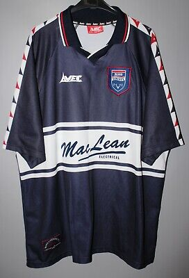 Ross County Scotland 1998/1999/2000 Home Football Shirt Jersey Avec Size Xl