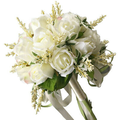 Arrivo Bouquet Da Sposa per Donna Bouquet Da Sposa con Fiori Artificiali Of N9N8