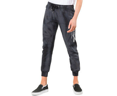 Rusty Women's Grateful Dyed Trackpant - Black
