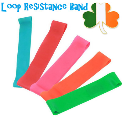 3x Yoga Resistance Bands Tension Loop Yoga Pilates For Home Fitness Exercise