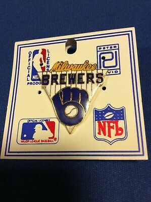 1988 Milwaukee Brewers Collectible Baseball Pin! Peter David Inc.