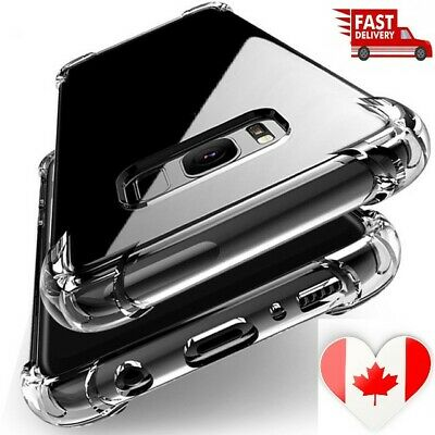Shockproof clear Silicone For Samsung Galaxy A10 A30 A50 A70 Note 10 Plus Case