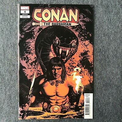 Conan the Barbarian #4 1 in 25 Greg Smallwood Variant Cover Marvel Comics