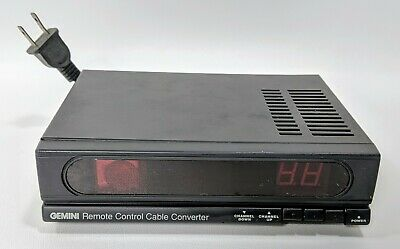 Gemini Cable Converter Tuner AD6000 Channel - 3/4 Switchable