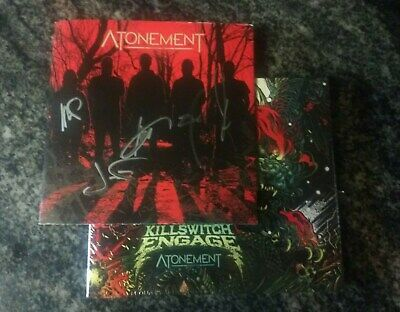 Signed Killswitch Engage Atonement CD Autographed