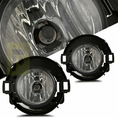 Smoke For 10-15 Frontier 05-14  Xterra Fog Lights w//Wiring Kit