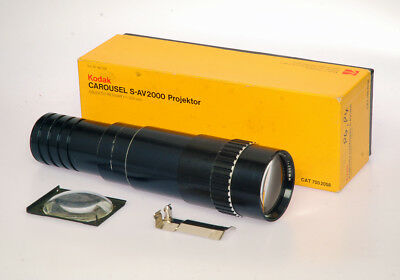250 mm. Retinar Carousel Projector lens with condenser