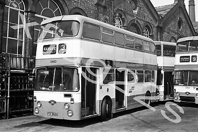 PHOTO Bolton Leyland PDR1A//1 293 OBN293H at Bus Stn in 1970