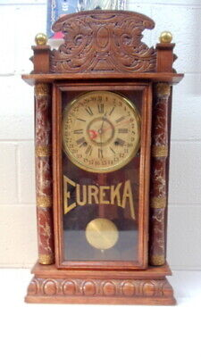 Eureka 8 Day Time And Strike, By William L. Gilbert.