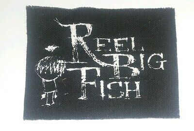 Vintage Reel Big Fish Early 2000's Small Sew-On Patch Ska, Punk Rock