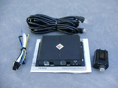 ROCKFORD FOSGATE RFPEQU 2-Channel Universal PEQ (Punch EQ) Remote
